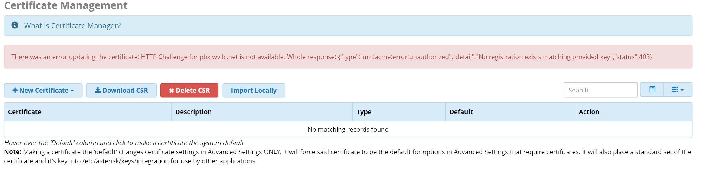 Freepbx 12925 letsencrypt cert generation fails sangoma issue captureg 1betcityfo Images