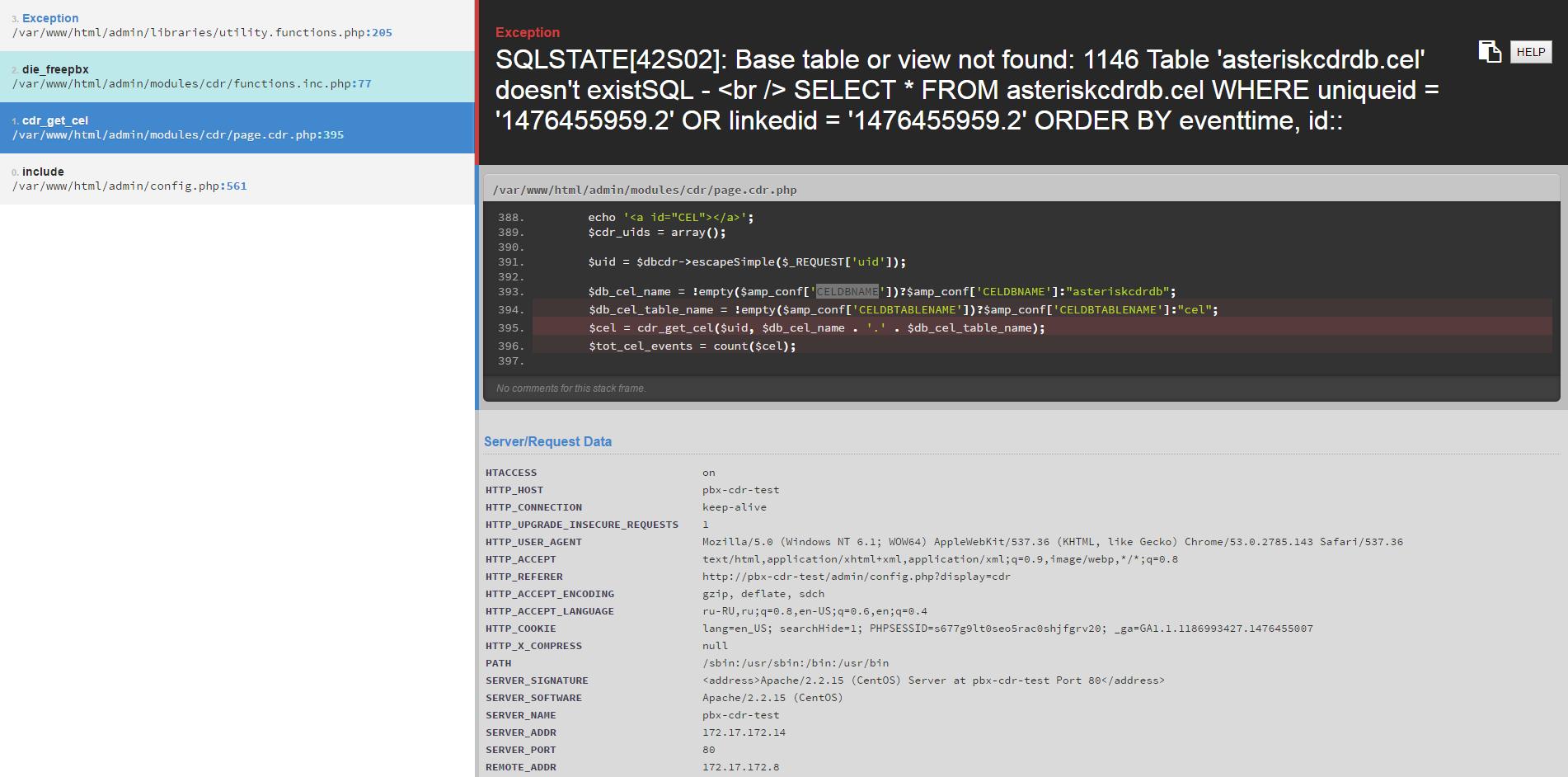 FREEPBX-13360] Missing configuration option for CELDBNAME variable