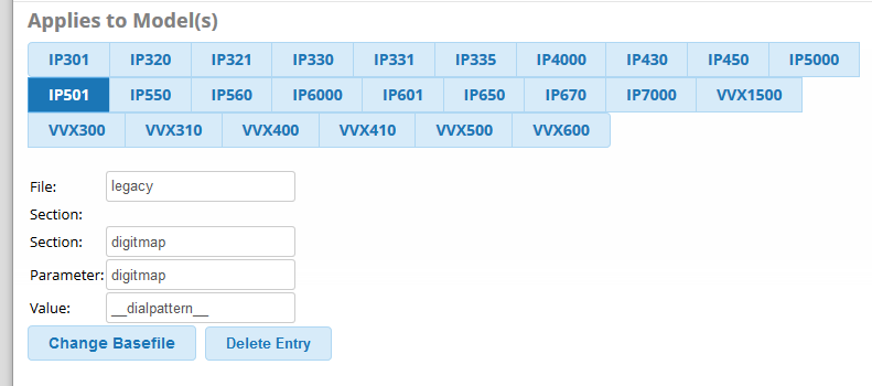 FREEPBX-16891] Dial Patterns in template not working for legacy
