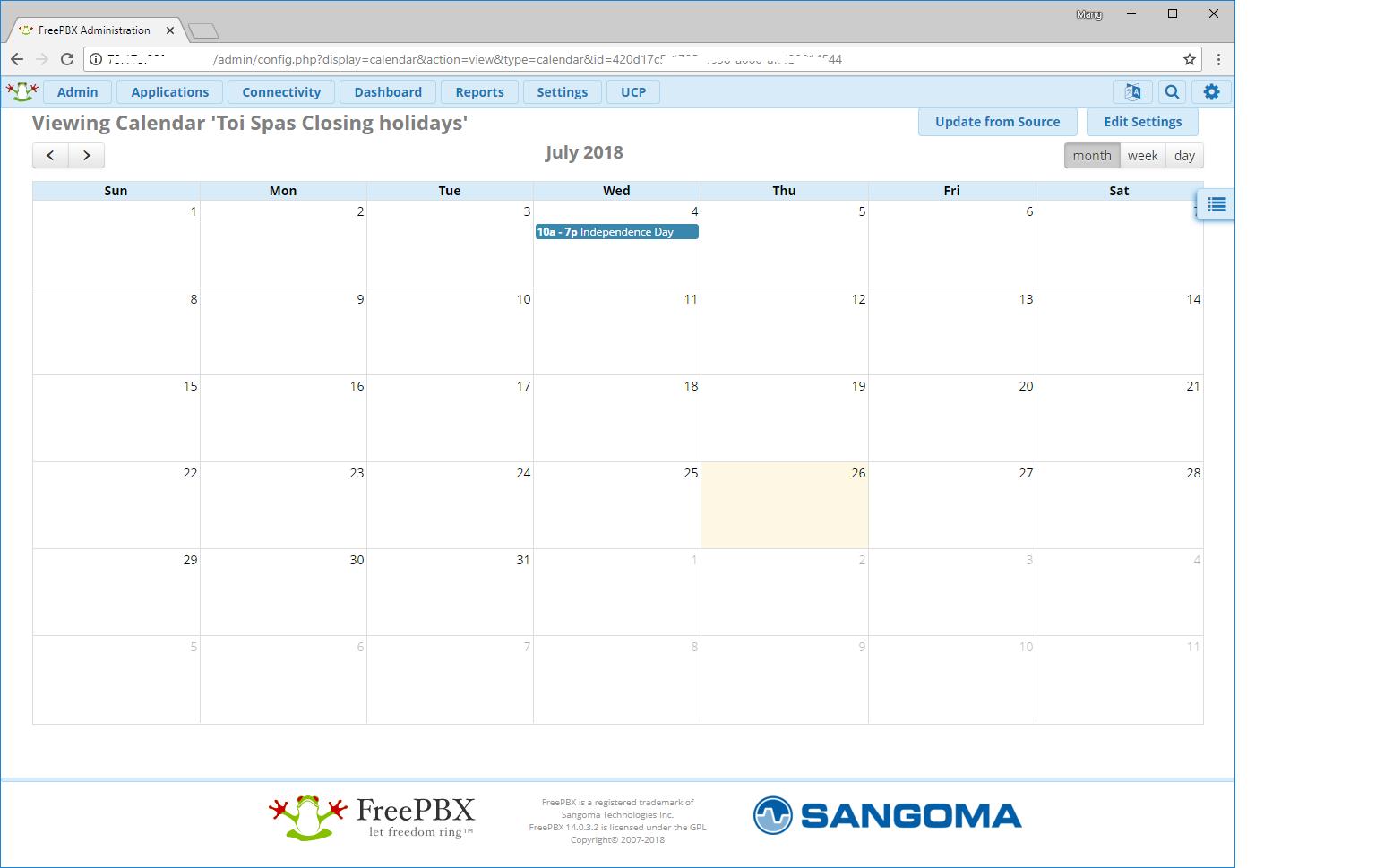 FREEPBX-17873] Calendar read ical from google